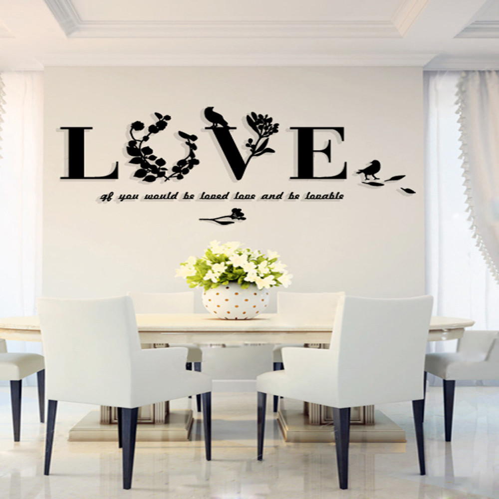 Vinyl 3d Muursticker.Us 2 65 23 Off 3d Wall Sticker Art Vinyl Removable Sofa Bedroom Mural Decor Dream Catcher Muurstickers Home Decor Muursticker Teksten Xtt In Wall