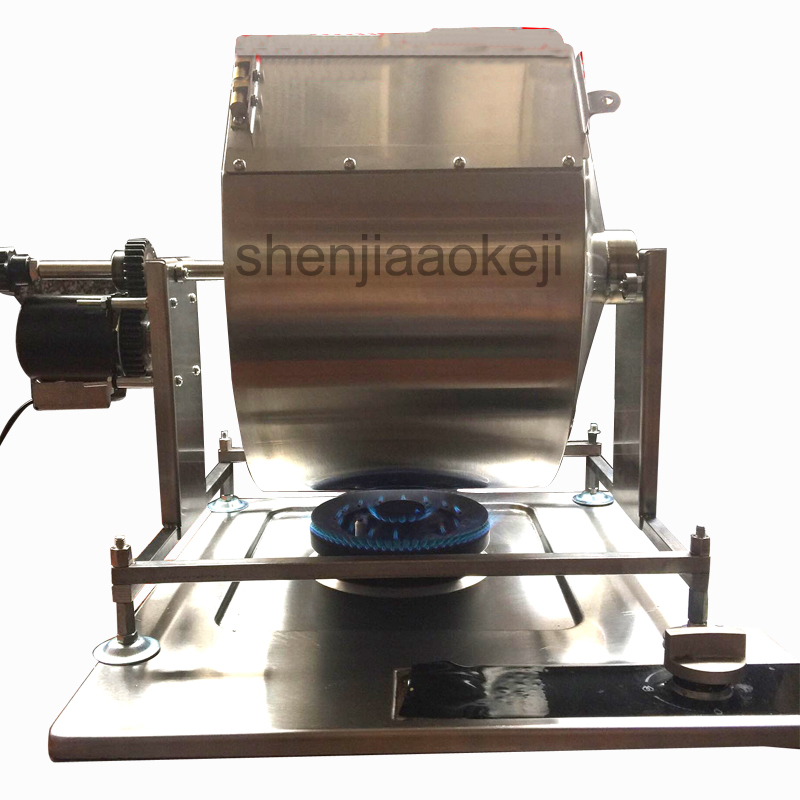 Automatic coffee roaster machine fried beans, stir-fried chili sauce,fried millet frying machine Household speculation machine image