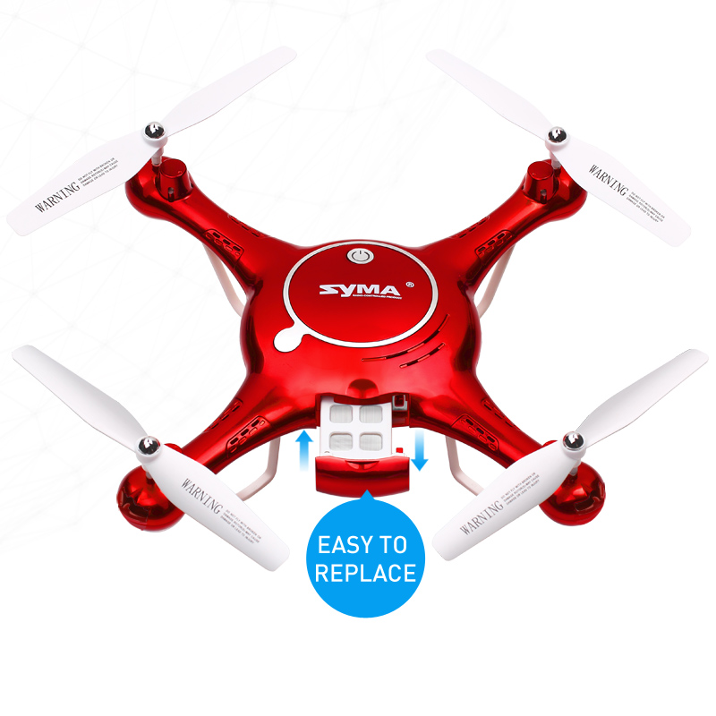 SYMA X5UW RC Quadcopter with Canera Remote Control Drone Rc Toy Childrens Christmas Gift RC Helicopterfor Outdoor Hobby