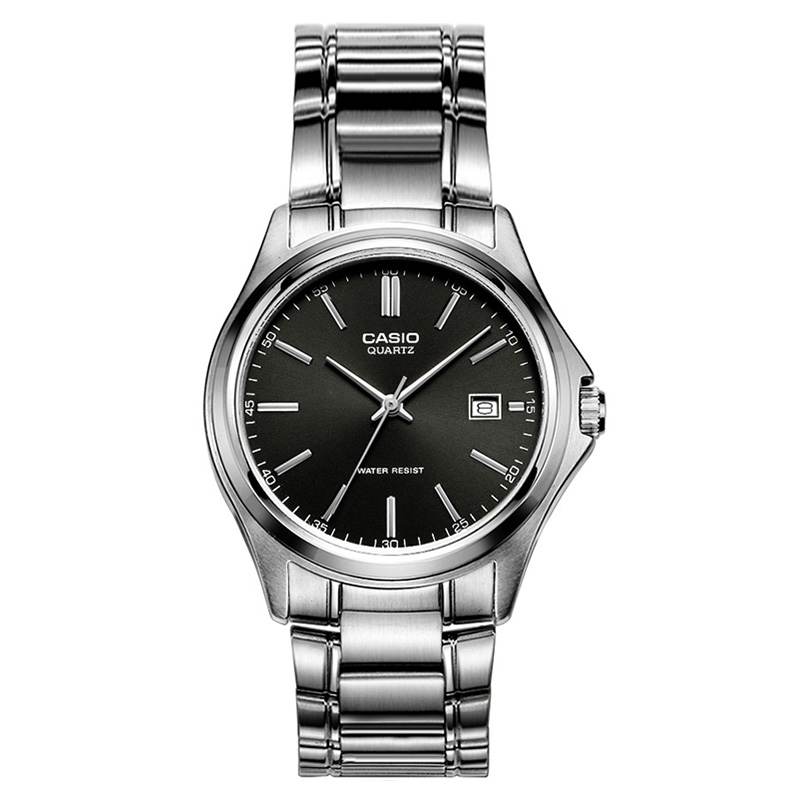 Casio Watch versatile business simple metal 100% Genuin men's watch MTP 1183A 1A-in Quartz Watches from Watches    1