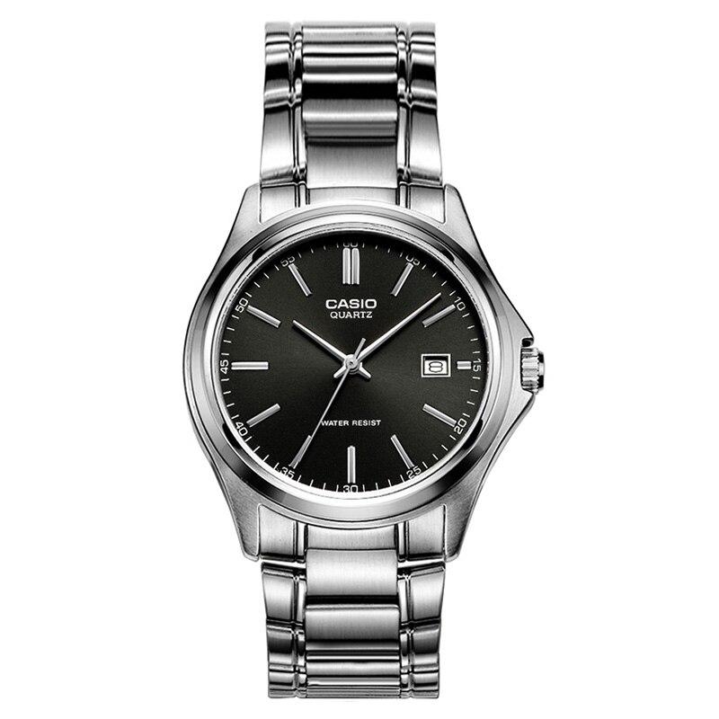 Casio reloj versátil de negocios simple metal 100% genuino reloj para hombre MTP 1183A 1A-in Relojes de cuarzo from Relojes de pulsera    1