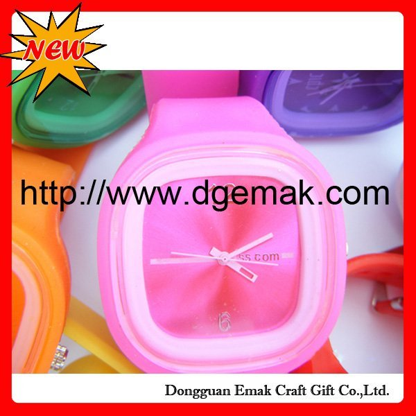 silicone Watch,fashion watch,Jelly Watch,200pcs,2011 fashion watch