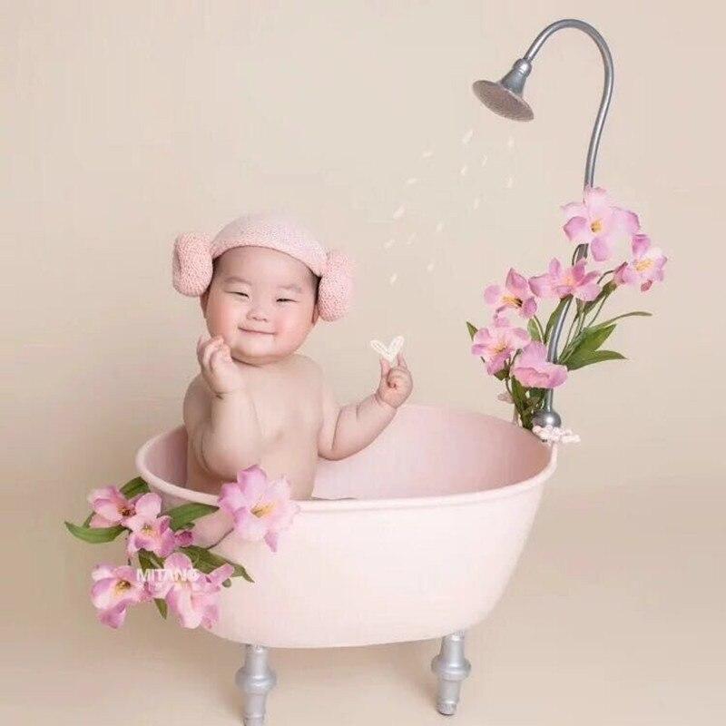 New style trend fashion Newborn photography props bathtub cute baby bathtub props studio