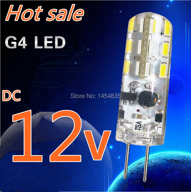 10pcs G4 LED Corn Light  DC 12V 3w 5w 6w Instead Of 20W-30w Halogen Lamp 360 Degree Saving Light Crystal Lamp Bulb