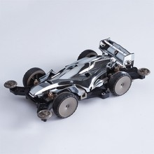 7-12 years old children\s educational toy car Four-wheel drive racing four-wheel assembled shock absorber MA chassis