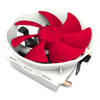 PCCOOLER Quiet V6 4 Copper Heatpipes CPU Cooler For AMD Intel 775 1150 1151 1155 1156