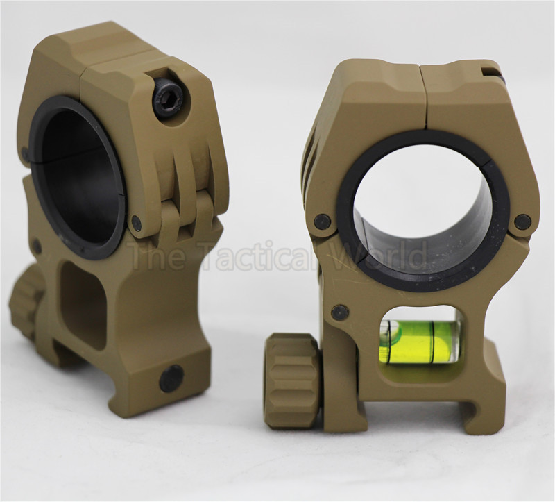 Acessórios de caça tático 25.4mm 30mm uso