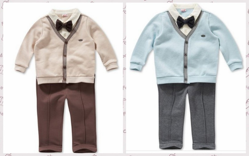 new 2014,autumn -summer baby boy clothing set,0-4 years boy clothes,newborn baby romper,gentleman style clothes,sports suit