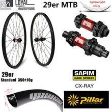 Hign-End DT Swiss 240 серия углеродное колесо для горного велосипеда 29er XC AM колесная установка китайский карбоновый обод 33 мм 29 мм 350 г Супер легкий обод
