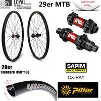 Hign End DT Swiss 240 Series Carbon MTB Wheel 29er XC AM Wheelset Chinese Carbon Rim 33mm 29mm 350g Super Light Weight Rim