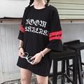 YouGeMan T-shirt Top Frau Sommer Kleidung Koreanische Ulzzang Harajuku Retro Kreis Ring Hohl Print Kurzarm T-shirt Frauen Tees