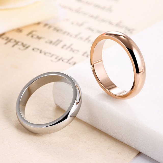 Plain Wedding Ring for Couples