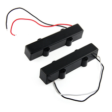 1 Pair 5 String Sealed Electric Bass Guitar Pickups For Jazz JB Bass High Quality  Electric Bass Guitar Parts Accessories New