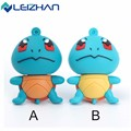 LEIZHAN Cute Squirtle USB Flash Drive 64g 32g 16g 8g 4g USB Stick Cartoon Tortoise Pen Drive Pendrive Computer Memory Card 2.0