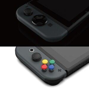 Image 3 - Nintendo anahtarı özel DIY başparmak kavrama seti Joystick kap Analog sopa kapaklar d pad düğmesi nintendo anahtarı NS joycon denetleyici