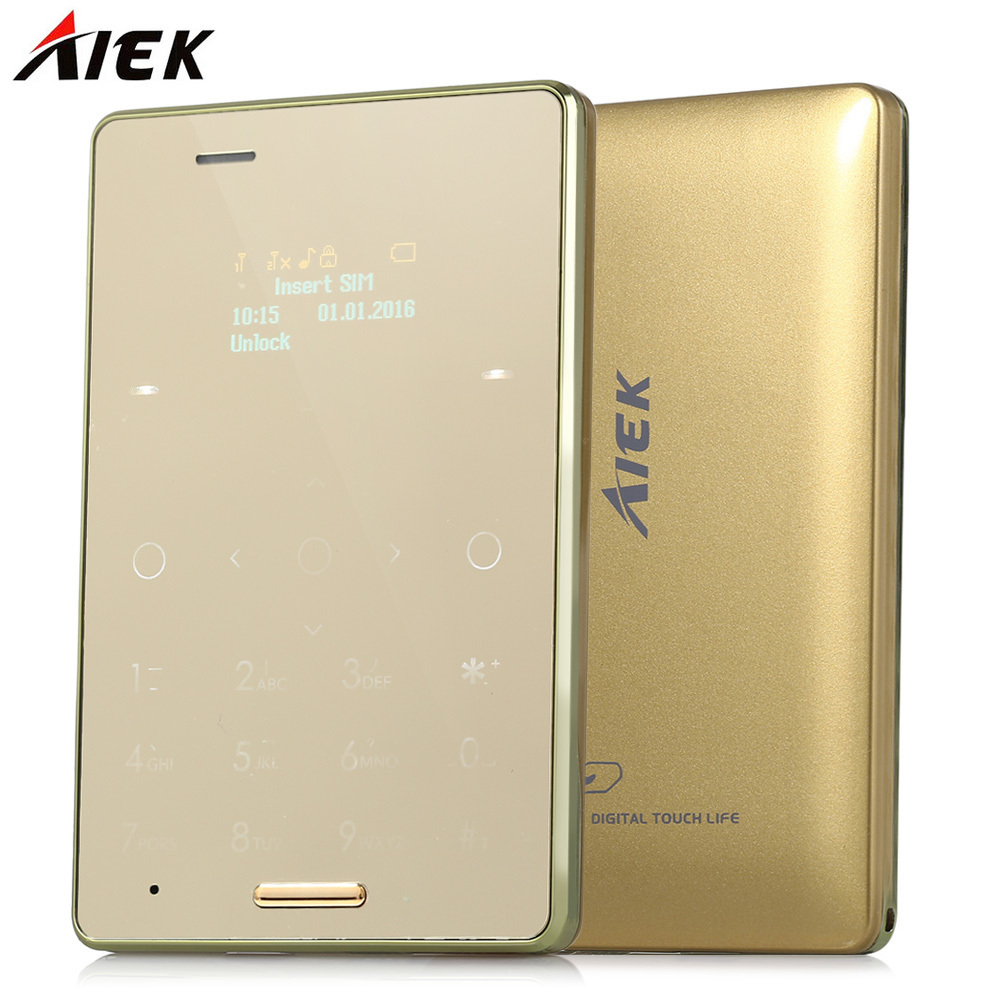 Hot Sale AIEK M4 Dual SIM Card Mobile Phone Ultra Thin ...