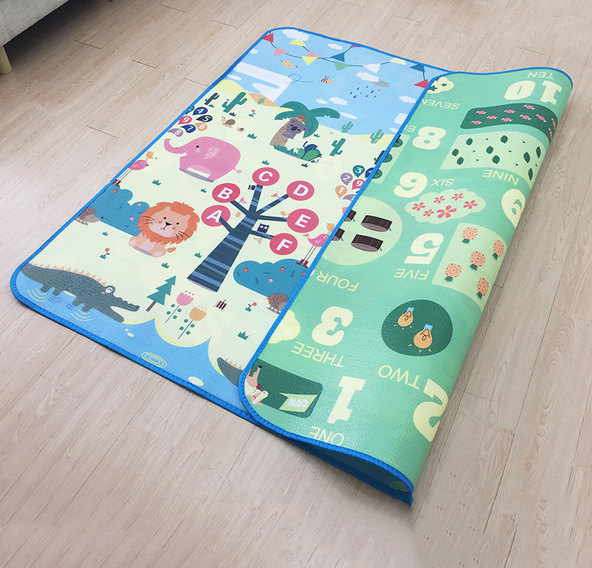 Infant Shining 0.5cm Baby Play Mat Toy Crawling Puzzle Thin Play Mats Developing Puzzle Mats Foam Mats Children Living Room Rug