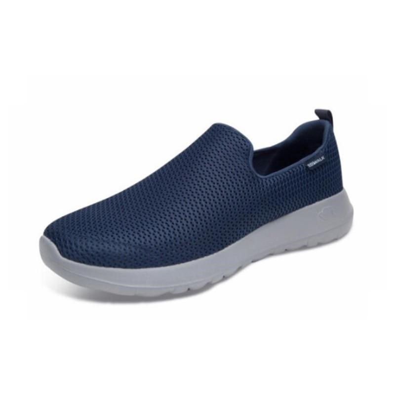 zapatos suaves mocasines zapatos cómodos Skechers mocasines Max hombres Casual transpirables Go 54600 BKW casuales hombres walking zapatos vfIbgy6Y7