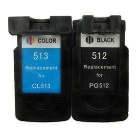 2PK PG-512 CL-513  for Canon PG512  CL513  for Canon MP240,MP245,MP230,MP268,MP272,MP276,MP480