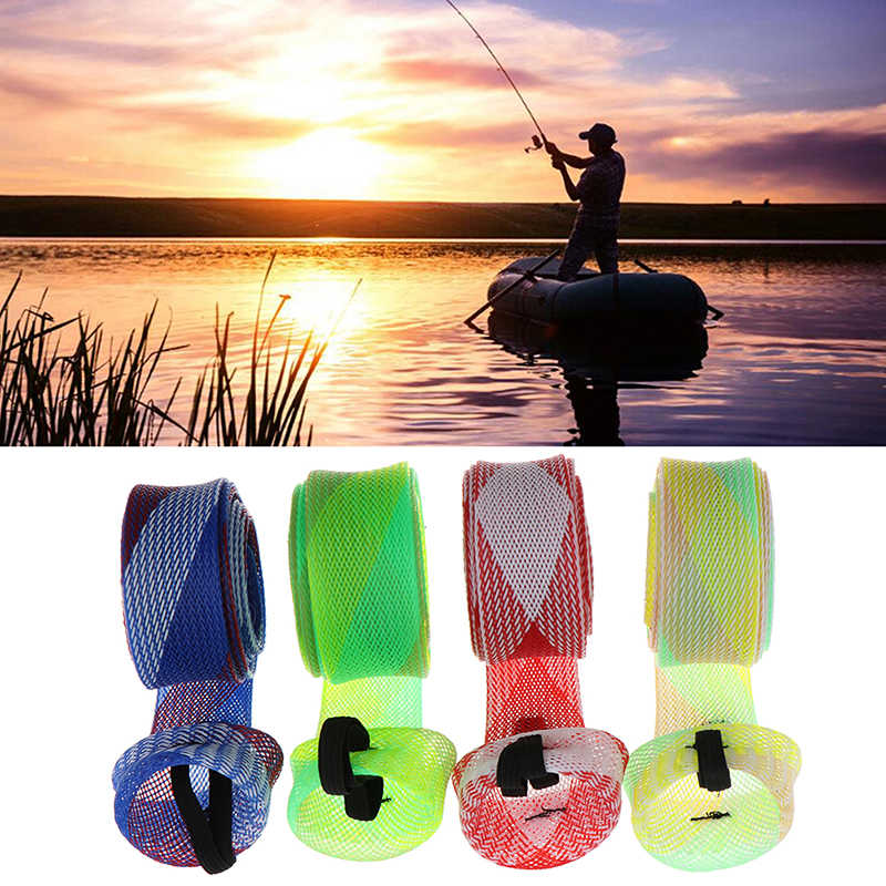 30mm Fishing Rod Cover Spinning Rod Sleeve Cover Fishing Pole Sock Pole Glove Casting Sea Fishing Rod Protector Tools