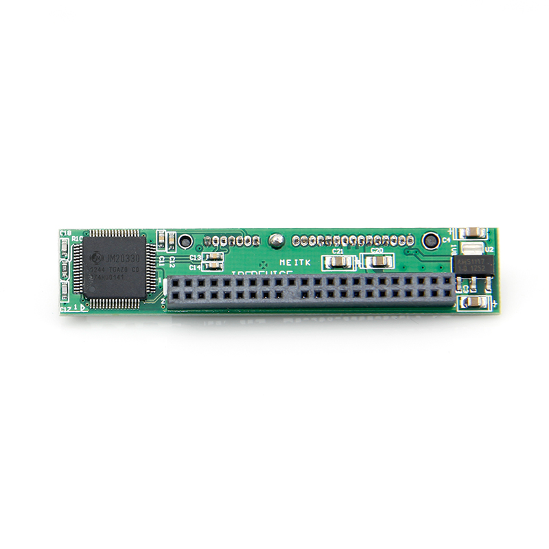 New 44 Pin 2.5 IDE Male M to 7+15 SATA Motherboard Adapter