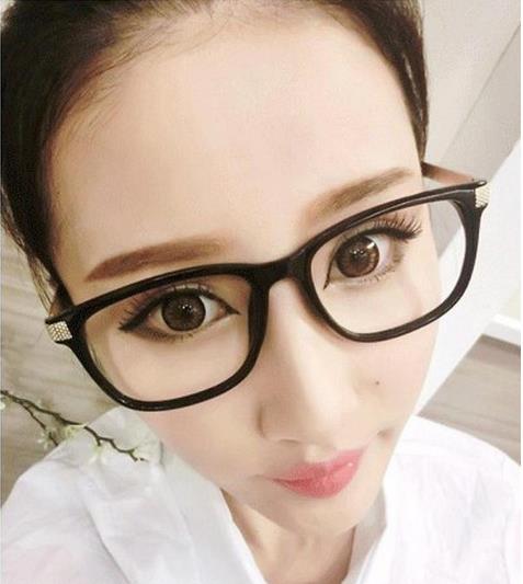 2018 Rushed Hmc Mirror Nová móda Anti-radiace počítačové brýle Brýlí na čtení Brýle Pc Ochranné obyčejné čočky Ženy Dekorativní