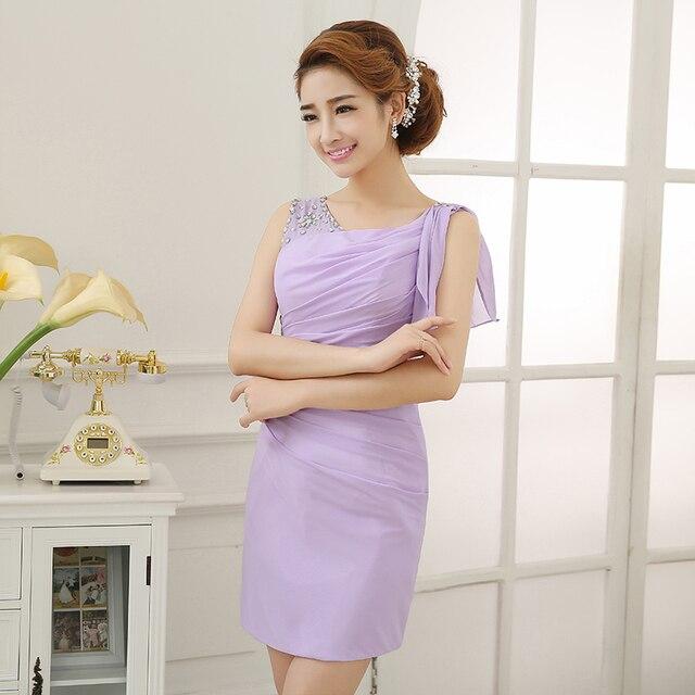 s 2016 new arrival stock maternity plus size bridal gown  evening dress short sheath red pink purple champane DZ1403