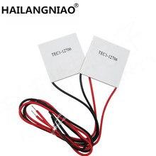 5PCS/LOT TEC1 12706 12706 TEC Thermoelectric Cooler Peltier 12V New of semiconductor refrigeration TEC1 12706