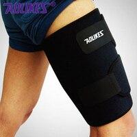 Leg Sleeve Support Brace Basketball Sport Compression Calf Stretch Brace Thigh Skin Protector