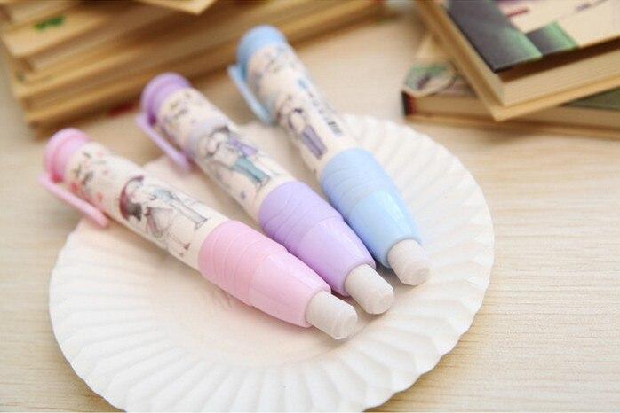 Mode Studenten Stift Form Radiergummi Gummi Briefpapier Kind Geschenk Spielzeug^