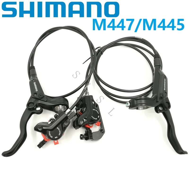 New Shimano BR-BL-M446 M447 Mountain Hydraulic Disc Brake set white for Alivio