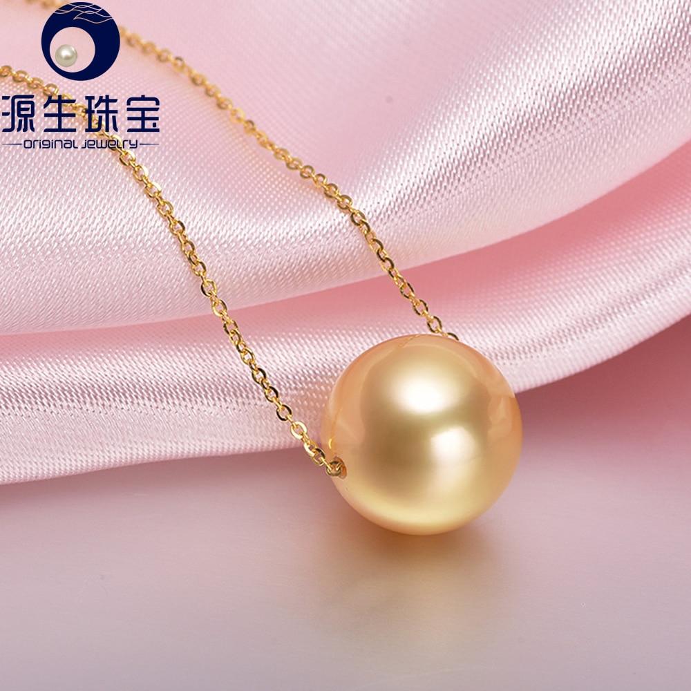 Aliexpress : Buy Pearl Jewelry 10 11mm Golden South Sea Pearl Single  Pearl Pendant 18k Gold Pearl Necklace Jewelry From Reliable Jewelry Gold  Pendants