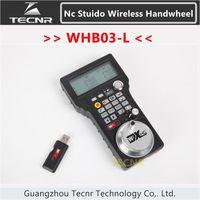 XHC NCStudio CNC Handwheel Wireless Nc Studio MPG Pendant Handwheel For Milling Machine 3 Axis WHB03