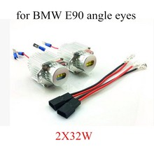 Error Free 32WX2 LED Angel Eyes Marker For BMW E90 Replace Bulb Light Source lamp best price sale
