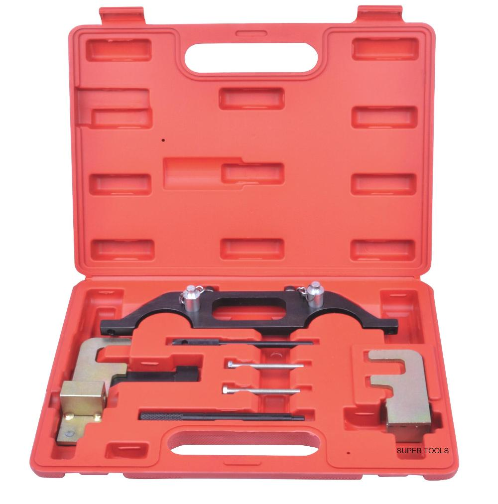 Automotive Engine Timing Camshaft Locking Tool Kit For RENAULT Espace 2.2 Master 2.2 / 2.5 DCI AT2138 6pcs set vag timing toolkit for vw audi skoda 1 0 1 2 1 4 tsi tgi automotive engine timing camshaft car repair tool kit