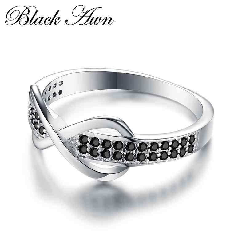 2019 ใหม่คลาสสิก 2.3g 925 เงินสเตอร์ลิงเครื่องประดับอินเทรนด์หมั้นแฟชั่นสำหรับสตรีงานแต่งงานแหวน Bijoux CC090