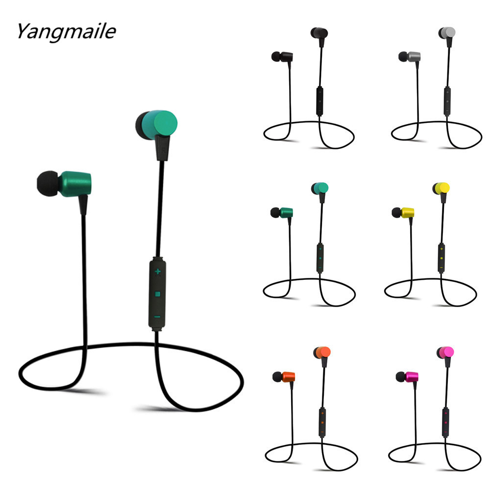 Yangmaile New And High Quality Wireless Bluetooth Headset Stereo Headphone Earphone Sport For iPhone For LG Free Shipping NOM26