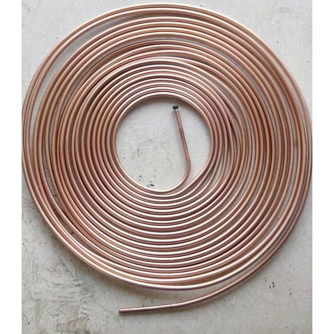 5/16 Inch OD 50FT Aluminum Copper Plating Tubing Refrigerator OD 8mm Length 15m LXM садовый шланг oem 15m 50ft 7 1