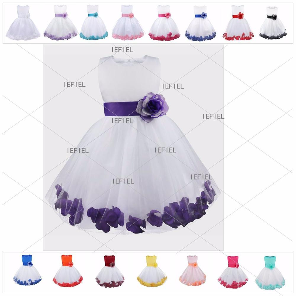 Tulle A Line   Flower     Girl     Dresses   for Wedding First Communion   Dresses   Wedding Party   Dress   Runway Show Pageant Danceway