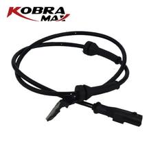 KobraMax ABS Wheel Speed Sensor for renault megane II Station Wagon Diesel 2003 Rear Left right 8200416683 kobramax front abs sensor left right for renault grand scenic megane ii scenic 8200404460