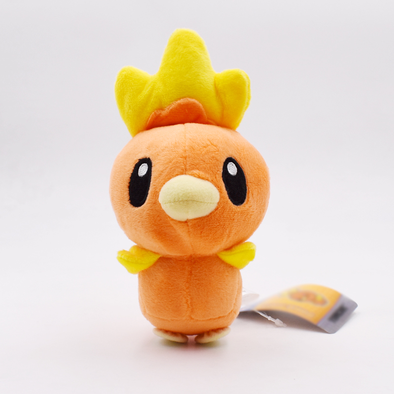 2018 Torchic Poult Small 6'' Turkey Plush Toy Pikachu Soft Peluche Doll Anime Hot Toys For Children Birthday Gift