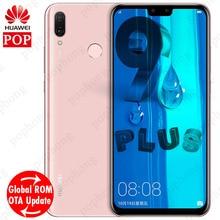 Küresel ROM Huawei Y9 2019 Zevk 9 artı Cep Phone6.5 ''Full Ekran Hisilicon Kirin 710 Octa Çekirdek Android 8.1 4000 mAh Smartpho...