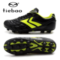 TIEBAO Brand Football Boots Boys Girls Soccer Shoes Outdoor Sports AG Soles Sneakers For Kids Teenagers Botas De Futbol