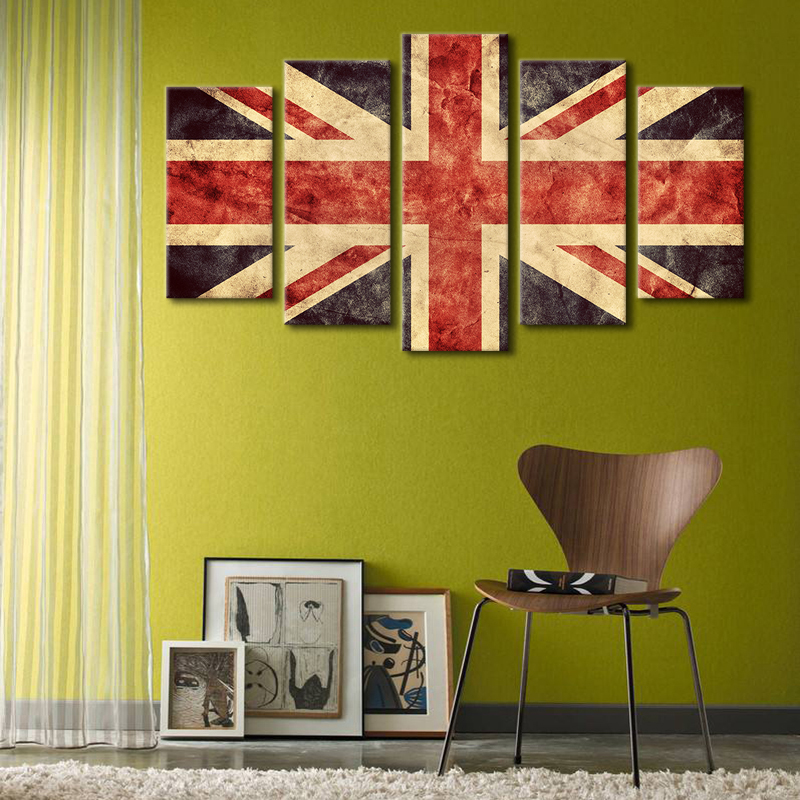 Modern Union Jack Wall Art Model - Wall Art Ideas - dochista.info