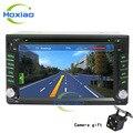 2 din Car DVD Player GPS Mapa de Navegación 2din Nuevo universal Car Radio mp3/MP4 usb Bluetooth volante cámara Libre gratis