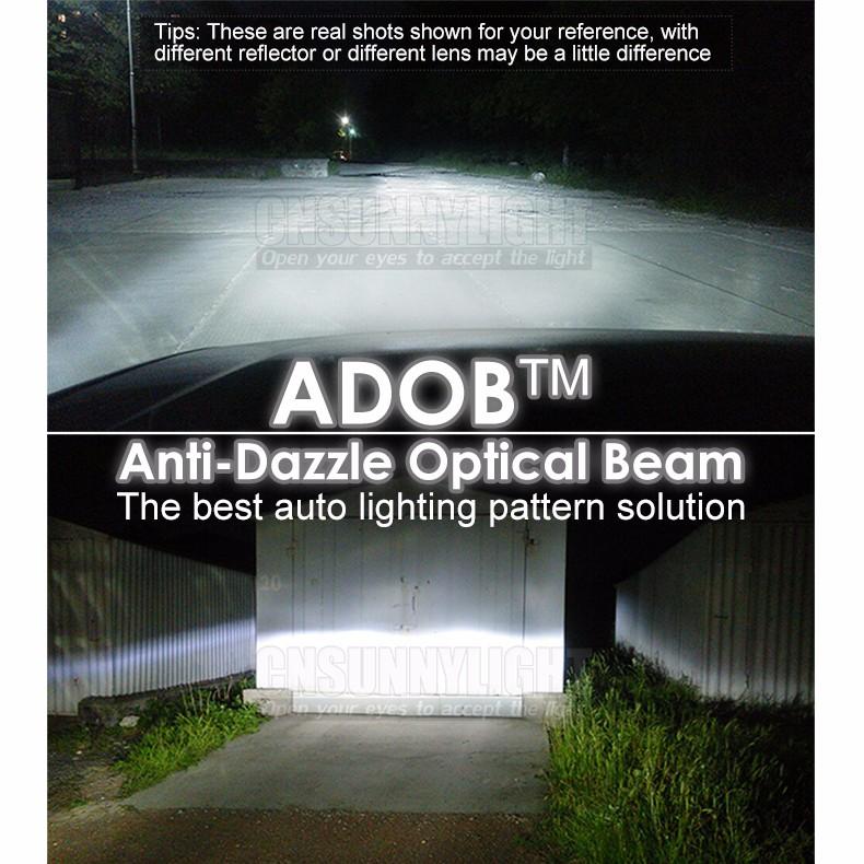 60W H1 Led CREE 6000LM Car Headlight Conversion Kit Driving Lamp Bulb Car External Lights H1 Fog Head Light Carro Levou Farol (2)