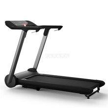 X3 1000 Вт многофункциональная домашняя Складная мини беговая дорожка ультра-бесшумный светодиодный цифровой дисплей оборудование для занятий фитнесом