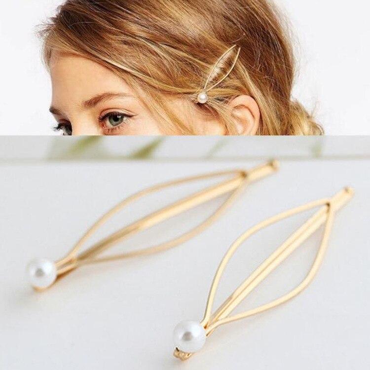 Simple Atmosphere Girls Jewelry Hairpins Hair Clips Hairgrip Hair Accessories Head Accessories Barrettes Women Hair Pins