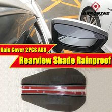 1 Pair of Rear View Side Mirror Rain Sun Visor Shade For Euro Import Domestic Spoon OEM F1 M3 Towing Manual Powered