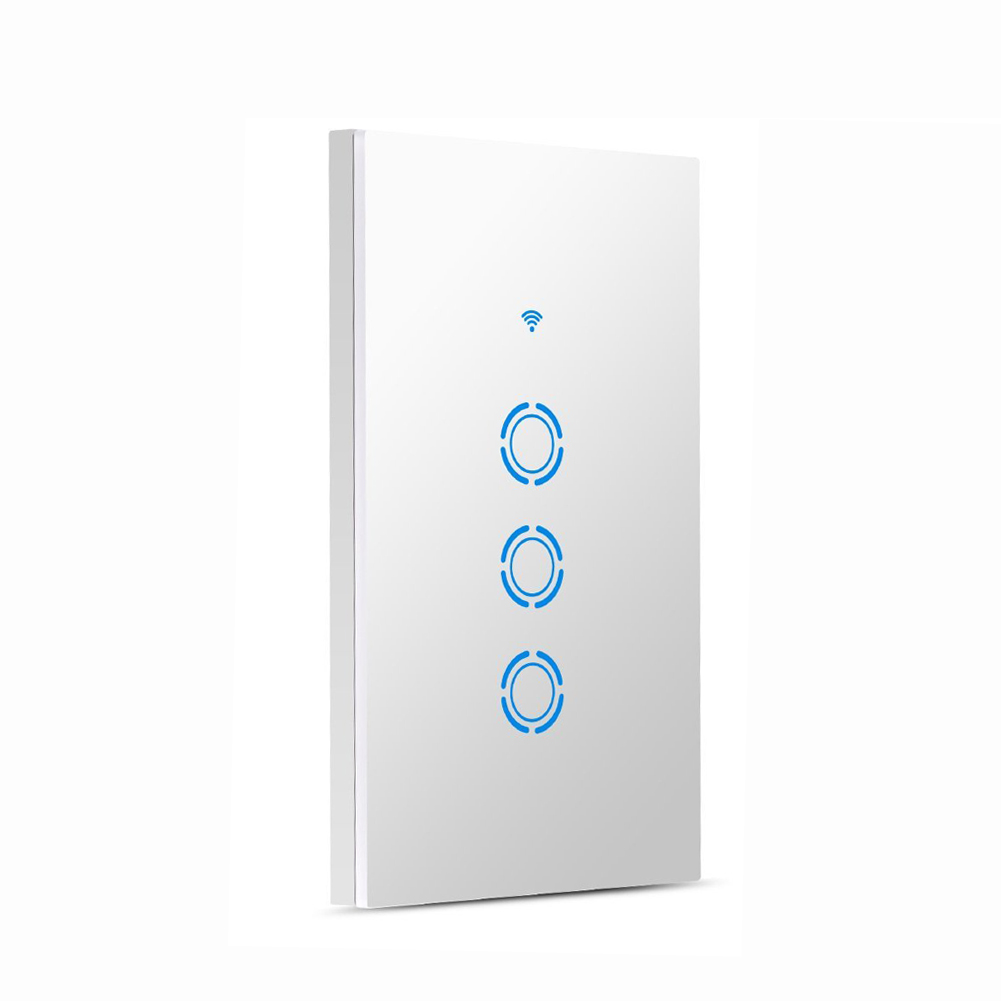 WIFI Light Switch Smart In-wall Voice Control Touch Control and APP Remote Control Timing Function Compatible with Amazon Alexa wiscore open source hardware module built in amazon alexa voice service function compatible with raspberry pi arduino microsemi
